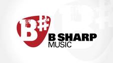 B Sharp Music Logo