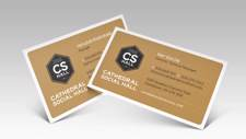 CS Hall Business Cards