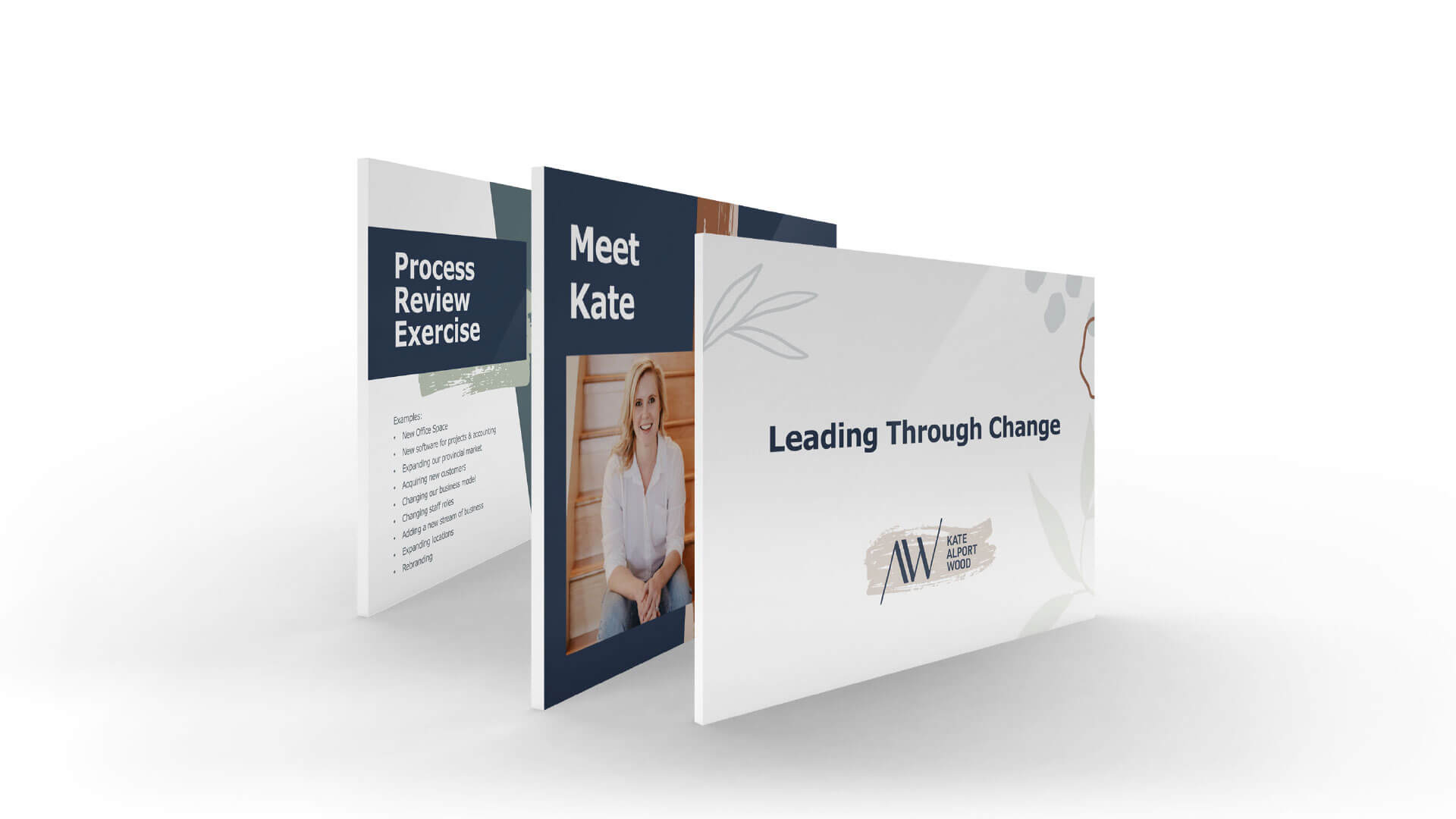 Kate Alport Wood Consulting, Digital, Kate Alport Wood Consulting Presentation Template, Portfolio Image,