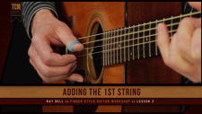 The Ray Bell FingerStyle Guitar training course includes 10 full lessons, with supporting practice patterns at various tempos for each. This video is an example of one complete lesson.